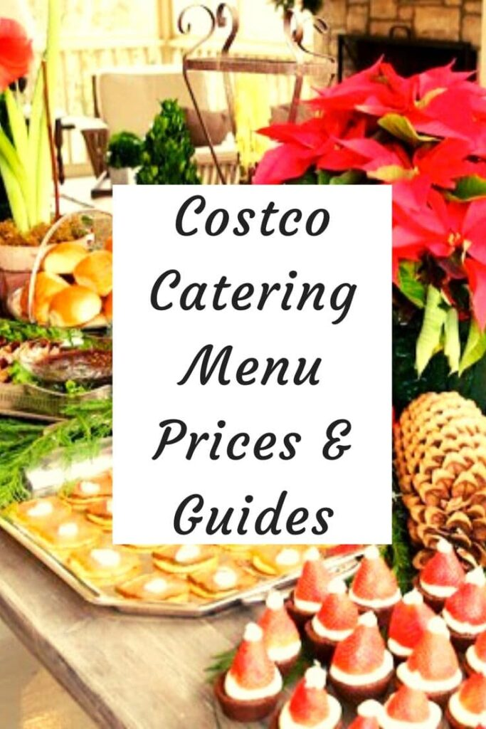 costco catering menu