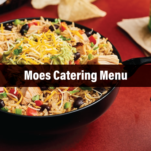 Moes Catering Healthy and Safety Conscious