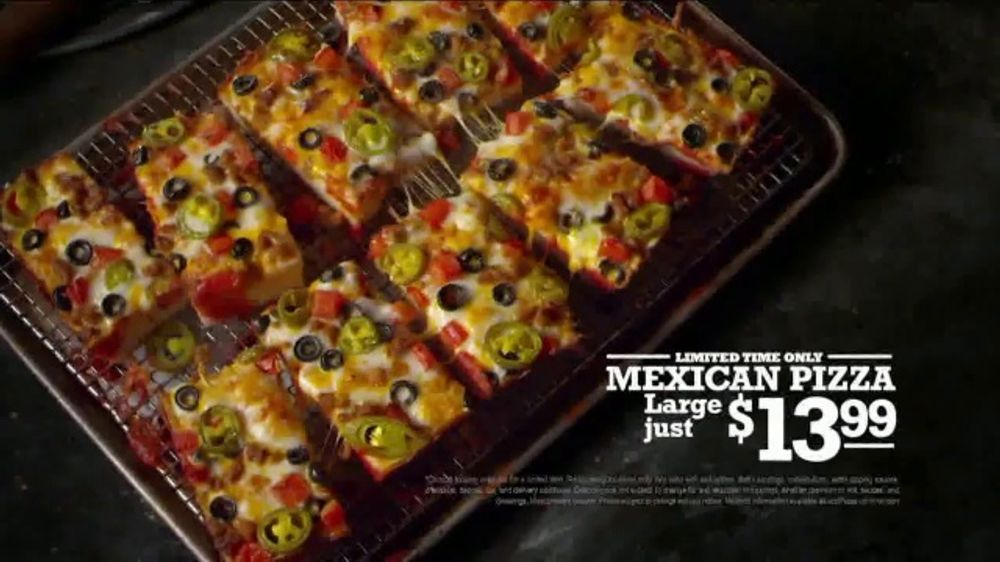 Jet's pizza mexican pizza