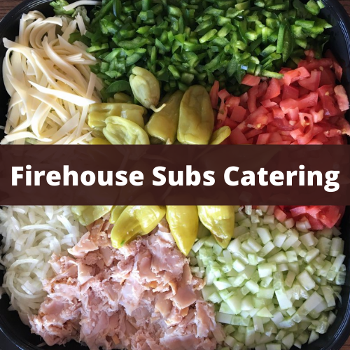 Firehouse Subs Catering Menu Prices & Reviews